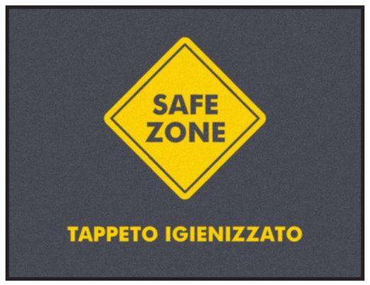 zerbino igienizzante safe zone