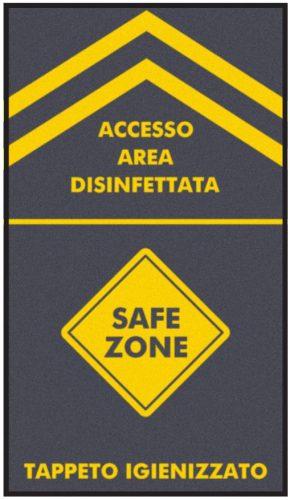 ACCESSO AREA DISINFETTATA
